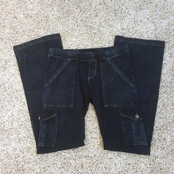 4d2cf007c3dcf9 Hard Tail Pants | 6 Pocket Cargo Bootleg Flare Pant | Poshmark
